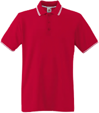 fotl tipped 100% cotton polo