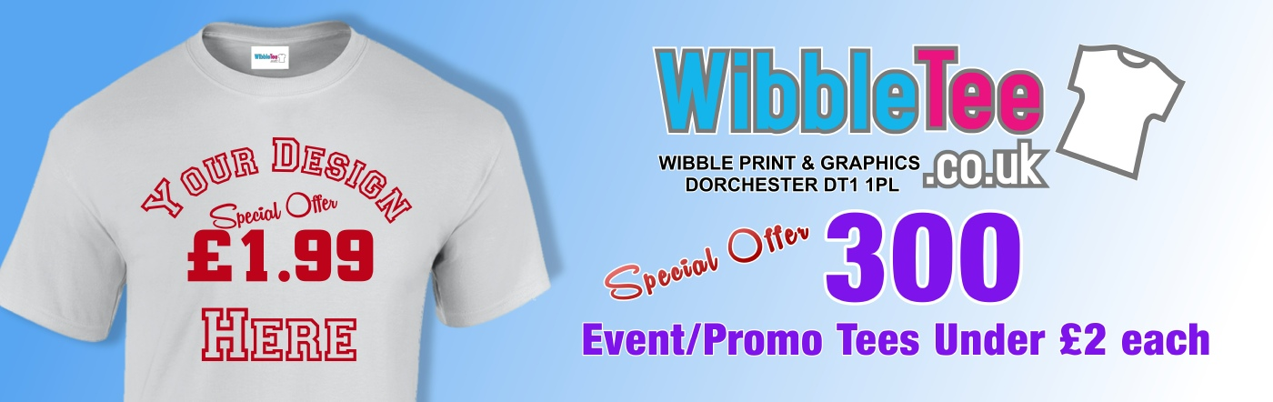 500 promotional tees for less than £2 each